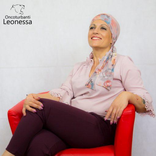 oncoturbanti-leonessa-bandane-turbanti-chemio-cancro-alyssia-beige-rosato