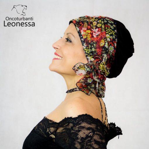 oncoturbanti-leonessa-bandane-turbanti-chemio-cancro-marica-floreale