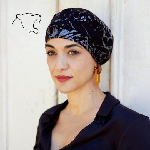 oncoturbanti-leonessa-bandane-turbanti-chemio-cancro-baschetto-argento-n-01