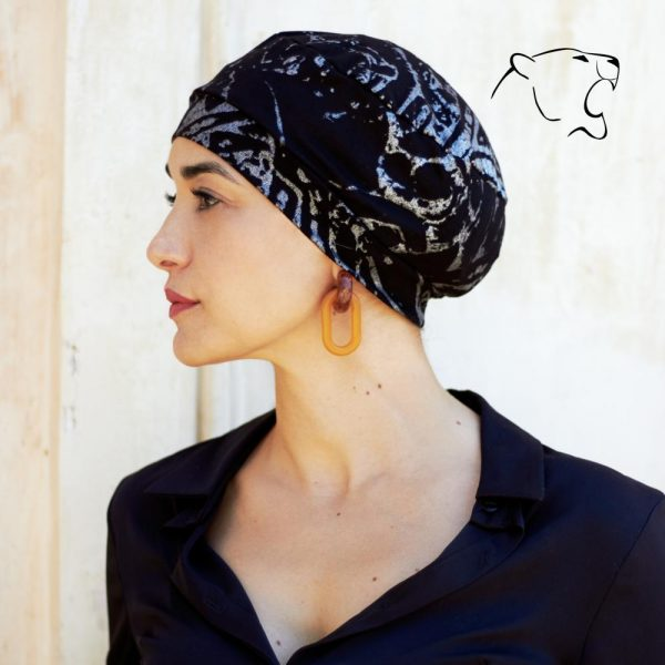 oncoturbanti-leonessa-bandane-turbanti-chemio-cancro-baschetto-argento-n-02