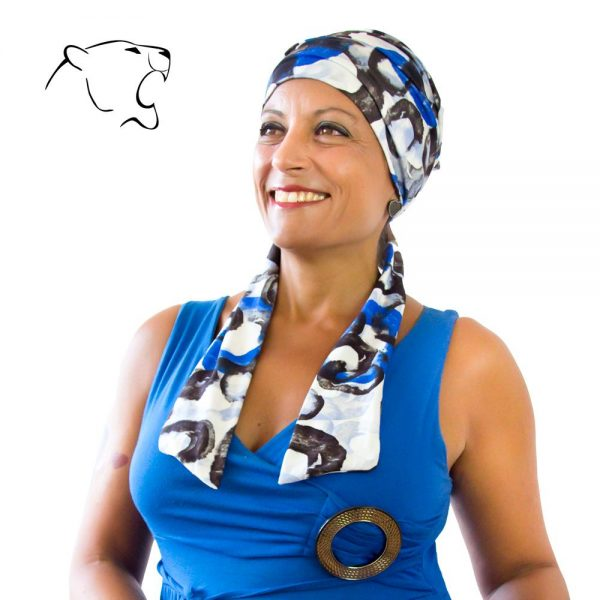 turbante-chemio-oncoturbanti-leonessa-annabel-fantasia-blu-01