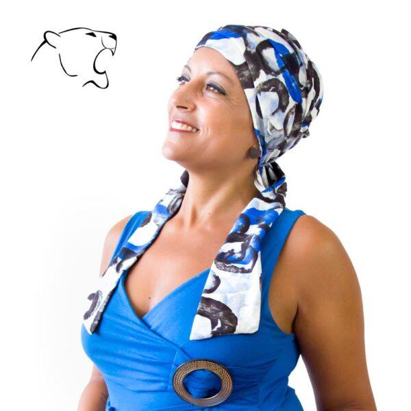 turbante-chemio-oncoturbanti-leonessa-annabel-fantasia-blu-02