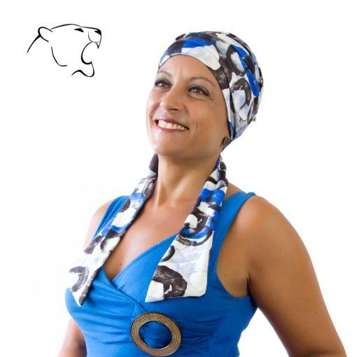 turbante-chemio-oncoturbanti-leonessa-annabel-fantasia-blu-03